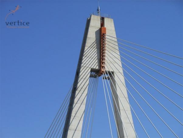 Trabajos de mantenimiento en Puente Real