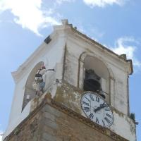 Reparación y pintura de la Torre del Ayuntamiento de la ciudad de las torres